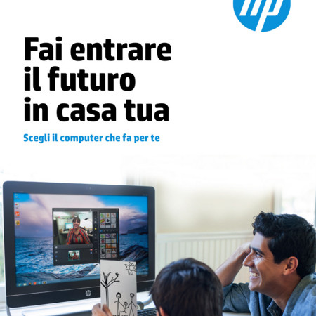 Copywriting testo volantino pubblicitario azienda produttrice computer