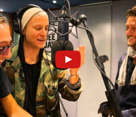 Interprete italiano inglese intervista radio a Ola