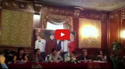 Interpretazione italiano inglese conferenza stampa One Direction