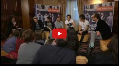 Interprete inglese italiano intervista One Direction