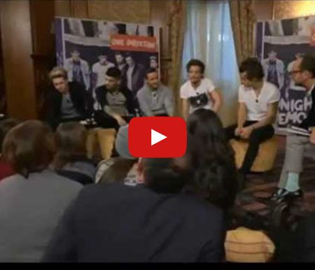 Interprete inglese italiano intervista One Direction