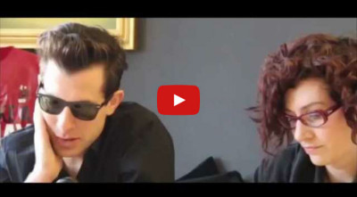 Interpretazione inglese italiano round table artista Mark Ronson