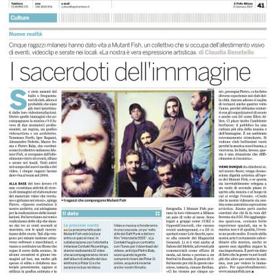 Articolo intervista collettivo milanese Mutant Fish su E Polis Milano