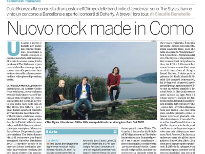 Intervista gruppo rock italiano The Styles E Polis Milano