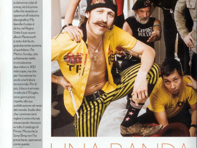 Articolo intervista gruppo musicale Gogol Bordello su Max