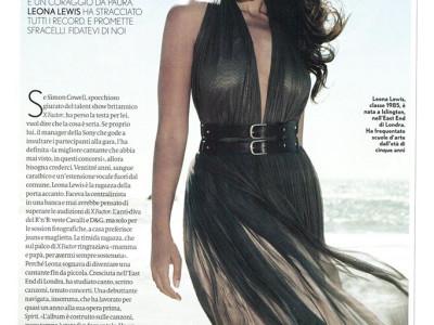 Articolo cantante britannica Leona Lewis su Max