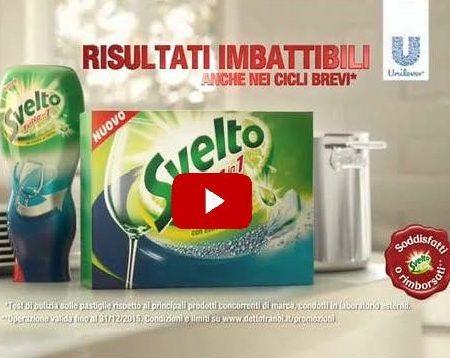 Transcreation spot TV detersivo in pastiglie per lavastoviglie