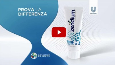 Transcreation video promozionale dentifricio denti