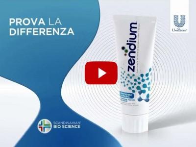 Transcreation video promozionale dentifricio denti
