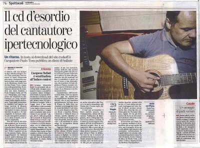 Intervista Paolo Toso su La Stampa