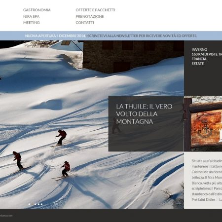 Copywriting testi sito web hotel 5 stelle Valle d'Aosta