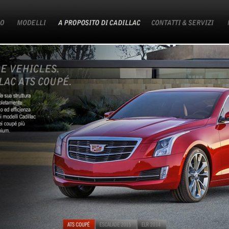 Transcreation testi sito web marchio auto di lusso