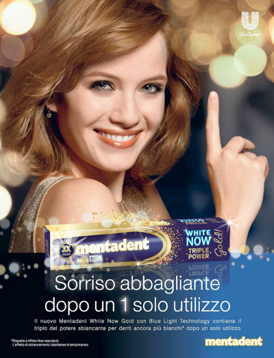 Transcreation campagna pubblicitaria stampa dentifricio