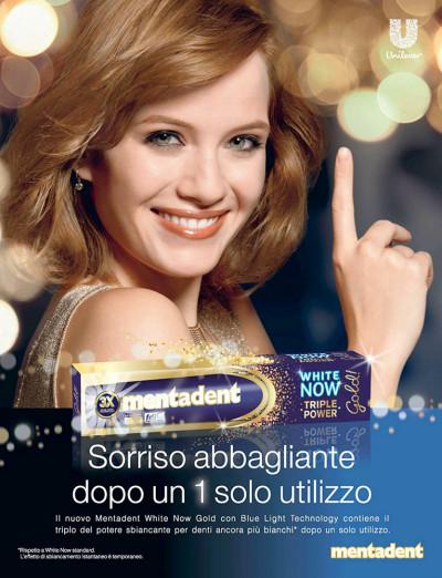 Transcreation campagna pubblicitaria stampa dentifricio