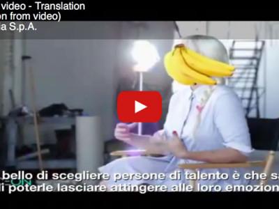 Traduzione inglese italiano sottotitoli video backstage Sia Elastic Heart
