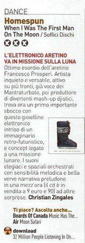 Recensione album Francesco Prosperi Homespun su XL