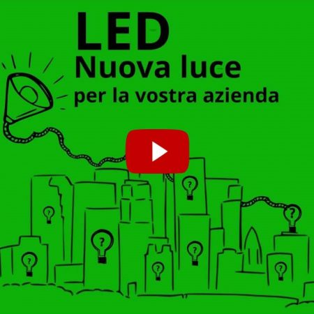 Transcreation e direzione del doppiaggio video promo illuminazione a led