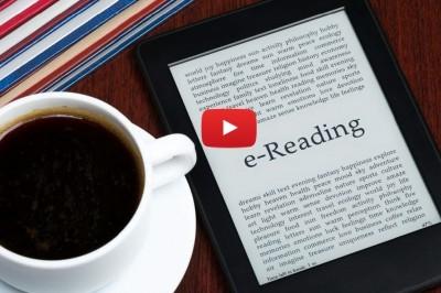Copywriting spot radiofonico lettore di libri elettronici