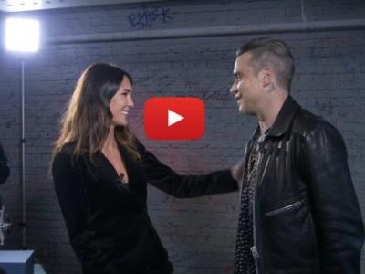 Interprete inglese italiano intervista tv Robbie Williams