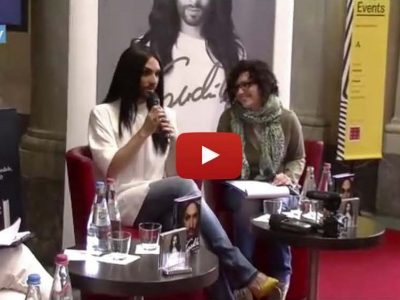 Interprete inglese italiano video intervista Conchita Wurst