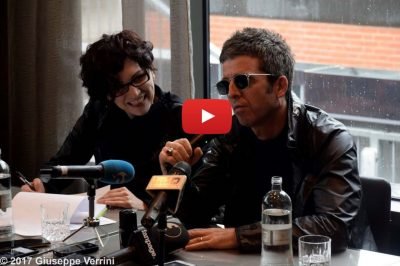 Interprete inglese italiano conferenza stampa Noel Gallagher in Italia